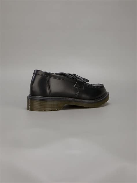 dr martens adrian loafer dr martens adrian loafer in black for lyst