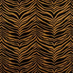 Machine Washable Upholstery Fabric by Tiger Brown And Gold Faux Animal Print Microfiber Machine