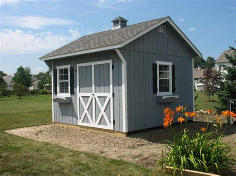 shed home carriage house storage shed pricing options list