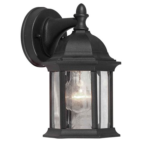 Cast Aluminum Outdoor Lighting Forte Lighting 1776 01 Cast Aluminum Outdoor Sconce Atg Stores