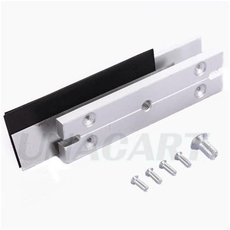 Magnetic Lock For Glass Door Aluminum Alloy U Shaped 180kg 350lbs Magnetic Lock Bracket Cl For Glass Door Ebay