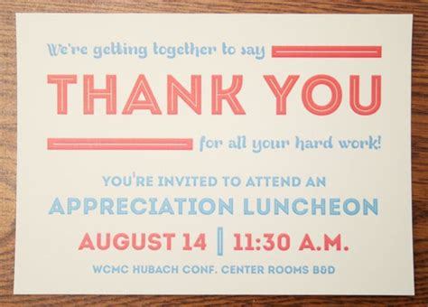 appreciation luncheon letter to parents appreciation luncheon invitation by brian hodges via
