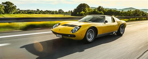 the best lamborghini the best looking among the fastest the lamborghini miura