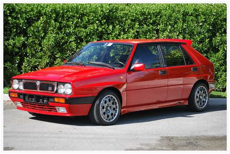 there s a 1989 lancia delta hf integrale for in the