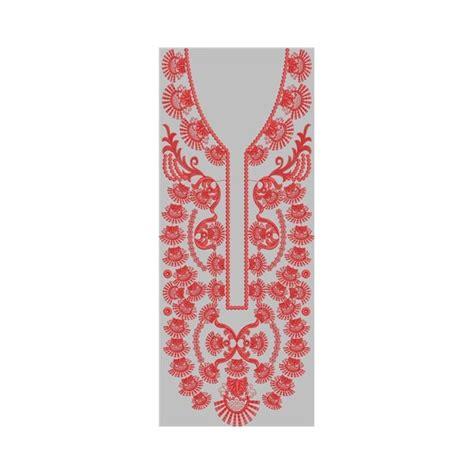 design line embroidery neck line embroidery design 10
