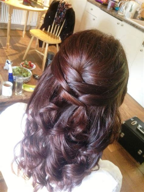 wedding hairstyles short hair half up half down half up half down wedding hairstyle ideas for short hair