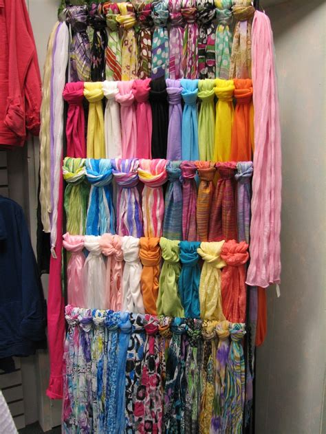 How To Store Scarves In A Closet by 52 Scarves Closets