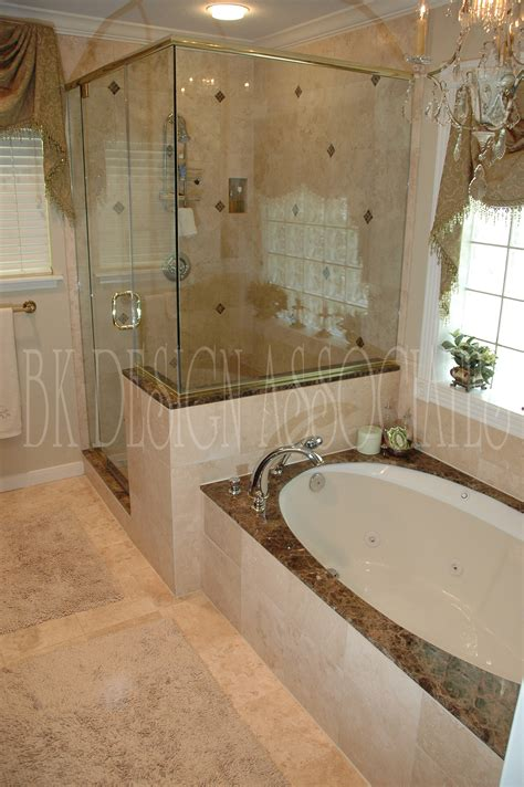 Bathroom Shower And Tub Ideas by Master Bathroom Showers Interior Design Ideas