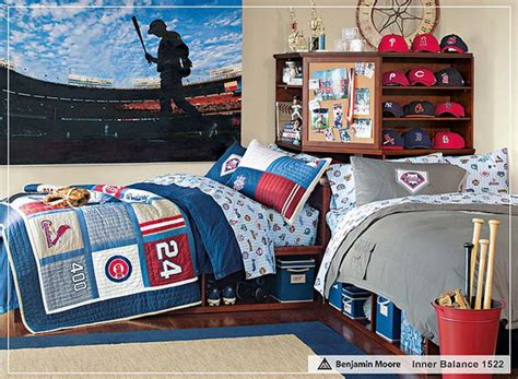 picture of sport themed boys bedrooms