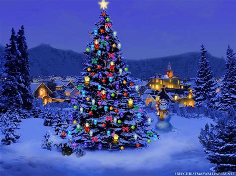 christmas tree lights free christmas desktop wallpapers christmas tree lights