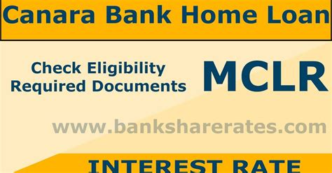 canara bank housing loan interest rates canara bank home loan interest rate july 2017 rate 8