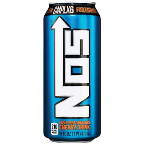 Toaster Fire Nos High Performance Energy Drink 16oz 473ml American Fizz