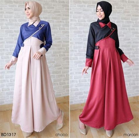 Model Baju Muslim Gamis Terbaru Dan Modern Lk Marisa 50 model baju lebaran terbaru 2018 desain modern dan elegan