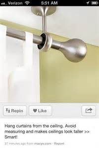 how to hang curtain rods from ceiling hang curtains from ceiling home sweet home