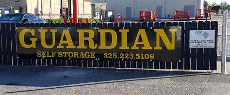 guardian self storage in san angelo self storage