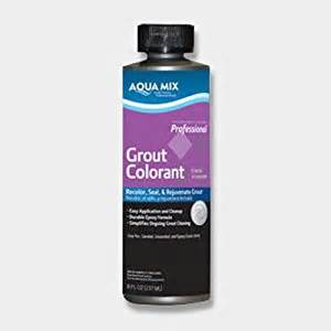 colored grout sealer aqua mix grout colorant 8 oz bottle black tile grout