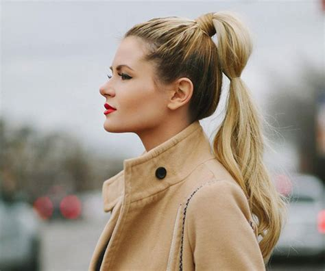 hairstyles 2015 high ponytail everyday ponytail hairstyles 2015 fall hairstyles 2017