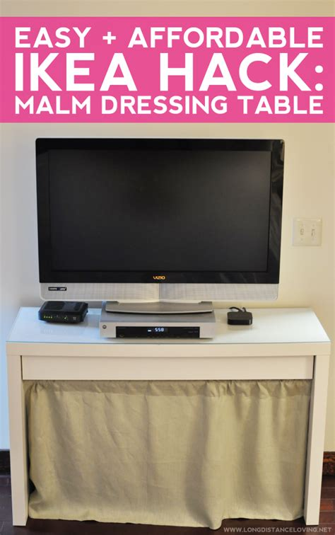 ikea malm desk hack long distance loving