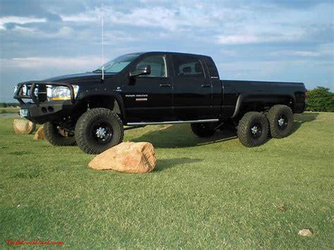 dodge 6x6 truck 2006 dodge ram 3500 mega cab 6x6 a true 6x6 conversion