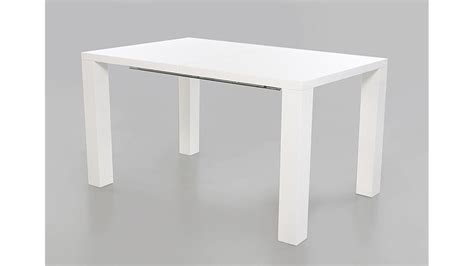 Hochglanz Tisch Weiss by Esstisch Elke Wei 223 Hochglanz Ausziehbar 120 160x90 Cm