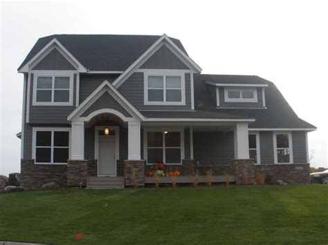 Gray Siding Dream Home Pinterest Exterior Colors House Colors And Home