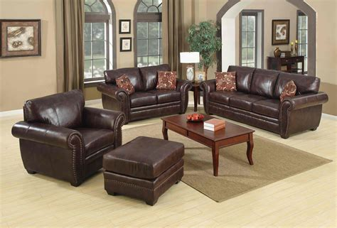 images leather couch living room ideas