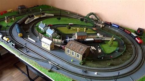 hornby layout youtube hornby trakmat extension 3 00gauge model railway pt 1