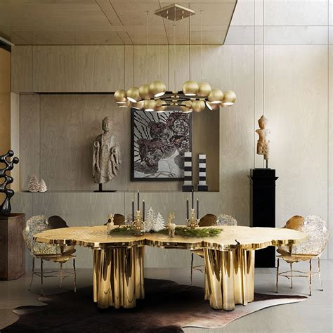 luxury dining table set modern dining tables for your home miami design district