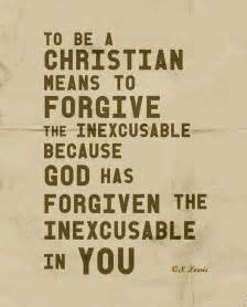 C.S. Lewis Quotes About Forgiveness