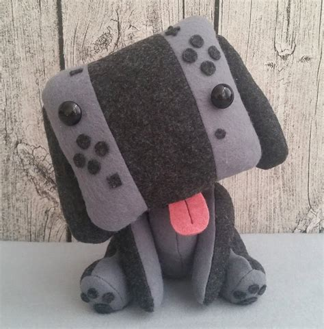 puppy plush nintendo switch puppy plush canine console technabob