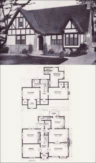 Tudor Revival House Plans The Stratford English Revival Tudor Style 1923