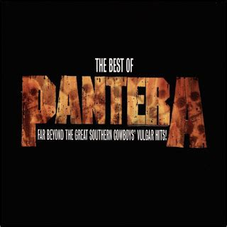 the best of pantera of sounds pantera the best of pantera far beyond