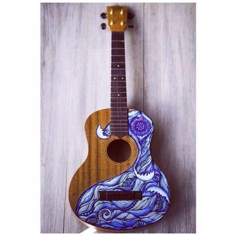 ukulele design instagram waves on ukulele ukulele pinterest