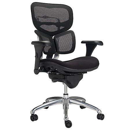 workpro chairs workpro commercial mesh mid back chair black office depot