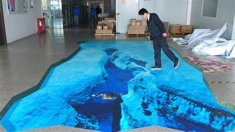 3d floor 3d floor sticker it s an illusion pinterest the