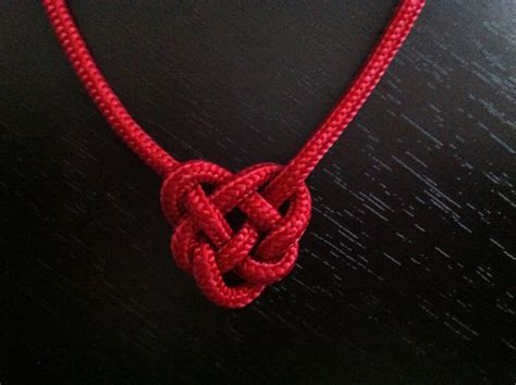 Tying Celtic Knots - one s knotting journey celtic knot necklace