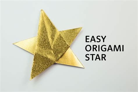 5 Point Origami - simple 5 point origami