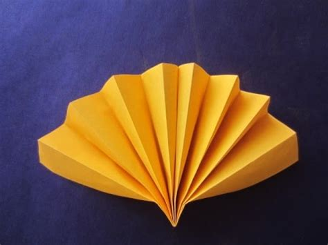 Paper Craft Fan - how to make simple fan paper craft