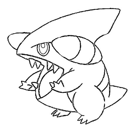 pokemon coloring pages gible dibujos para colorear pokemon gible dibujos pokemon