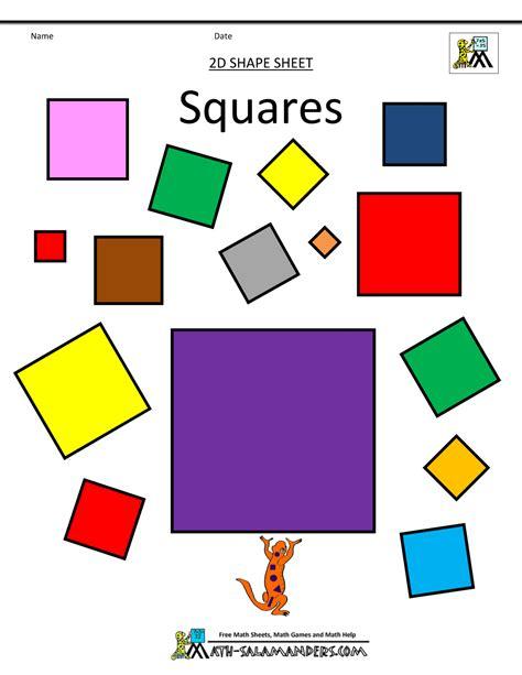 2d printable coloured shapes shapes clipart basic 2d shapes