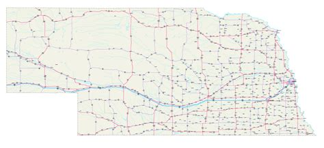 road map of nebraska usa map of ne nebr pictures to pin on pinsdaddy