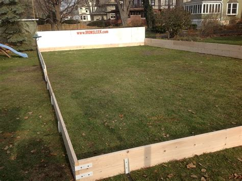rink boards backyard rink boards backyard rink boards