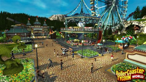 roller coaster world rollercoaster tycoon world preview the ride never ends