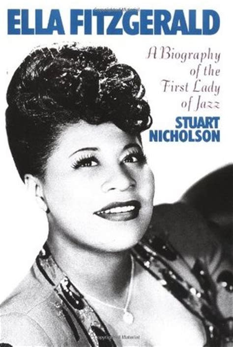jazzy m biography ella fitzgerald a biography of the first lady of jazz by