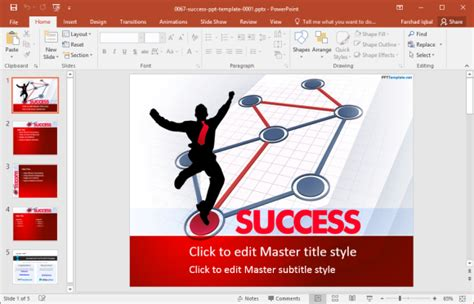 success powerpoint templates free free success powerpoint templates