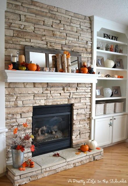 stone with built ins 10 brick and stone fireplaces