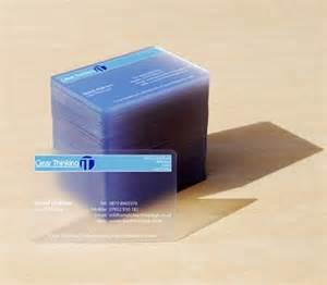 business cards plastic 25 clear transparent plastic business cards inspiration