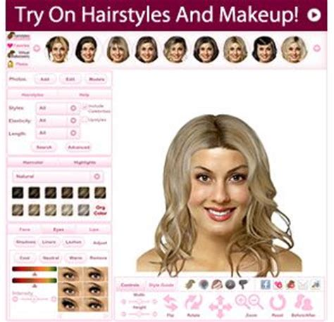 how to see yourself with different hair color how to see virtual makeover upload your photo and view yourself