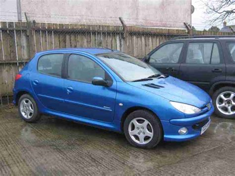 peugeot blue peugeot 2005 206 sport blue car for sale