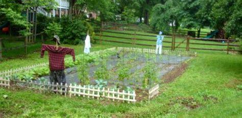 scarecrows   garden todays homeowner